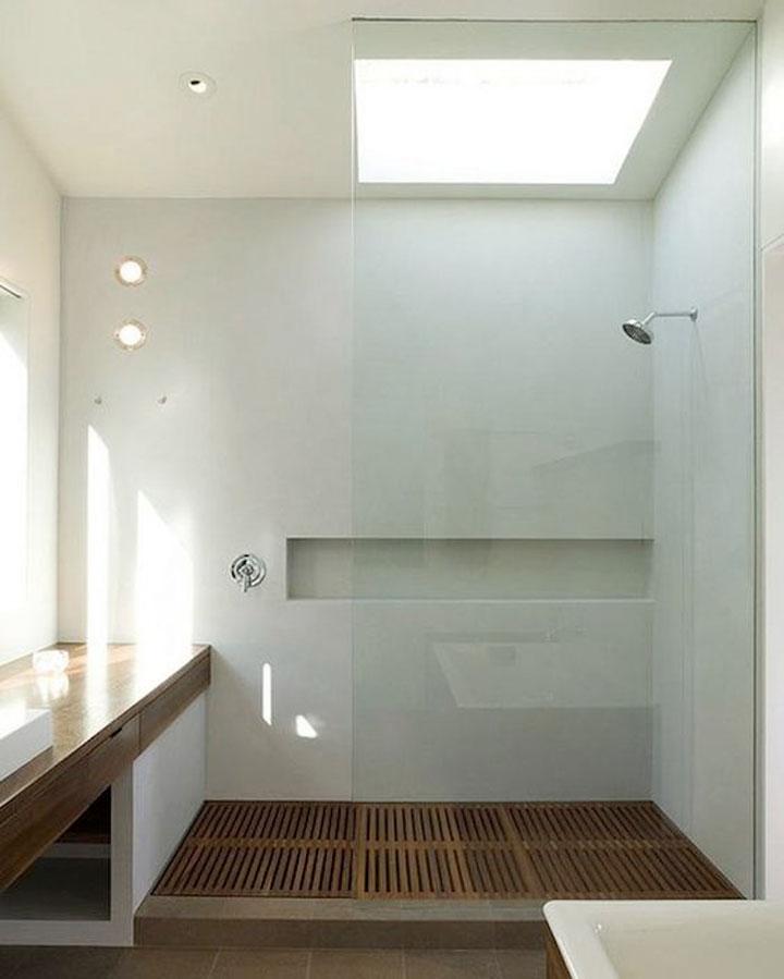 Glazen Douchewand Tot Plafond.Glazen Douchewanden Voor Meer Ruimtegevoel Woonmooi