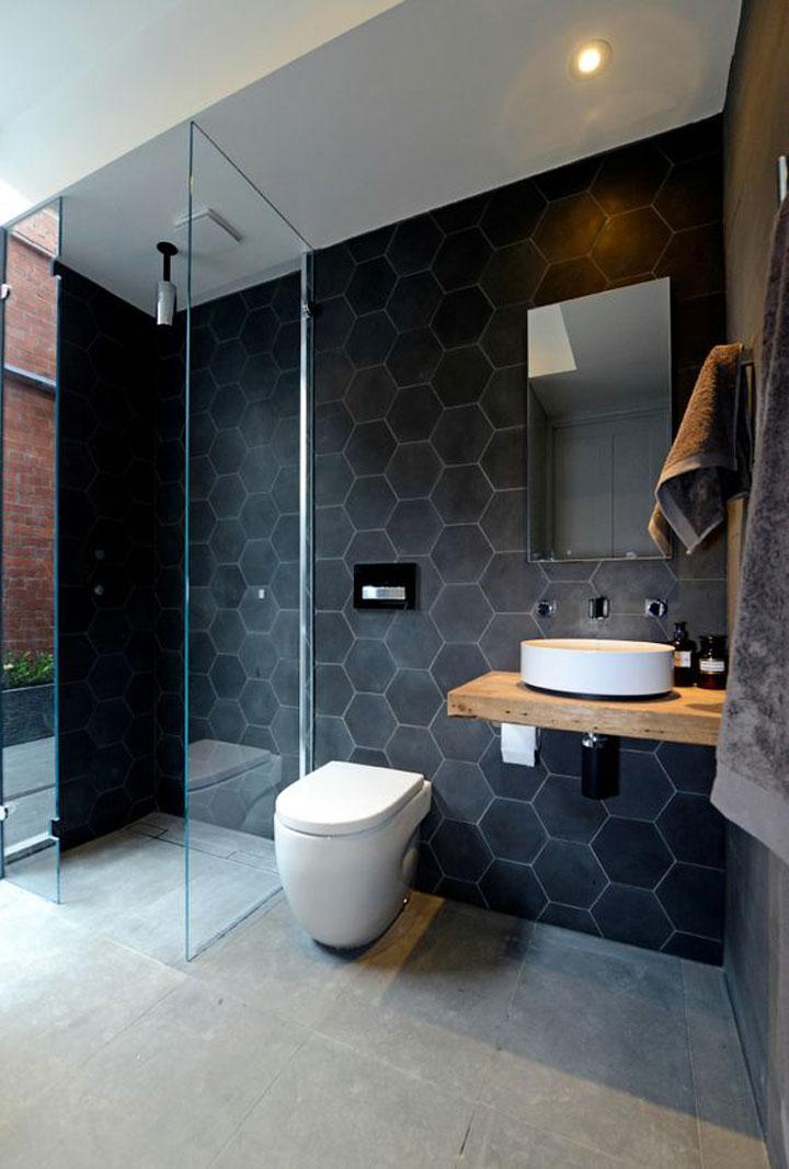 Glazen douchewanden voor meer ruimtegevoel woonmooi - Credence glazen badkamer ...