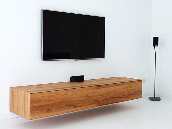 Van kleine tv meubels tot grote tv wanden woonmooi - Muur plank onder tv ...