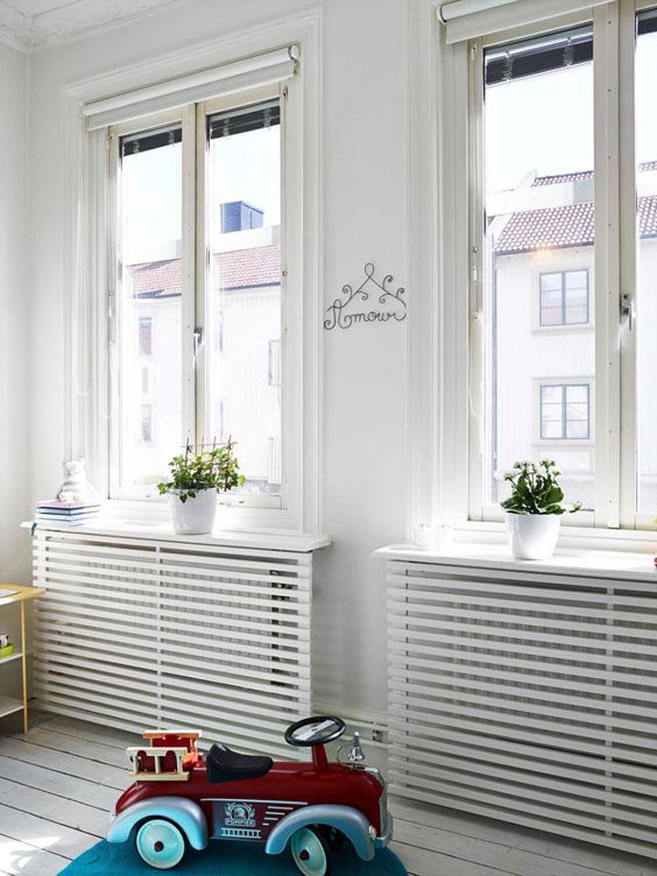 radiatoren wegwerken onder raam