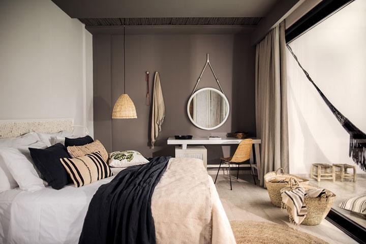 hotelkamer in bohemian stijl door thomas cook