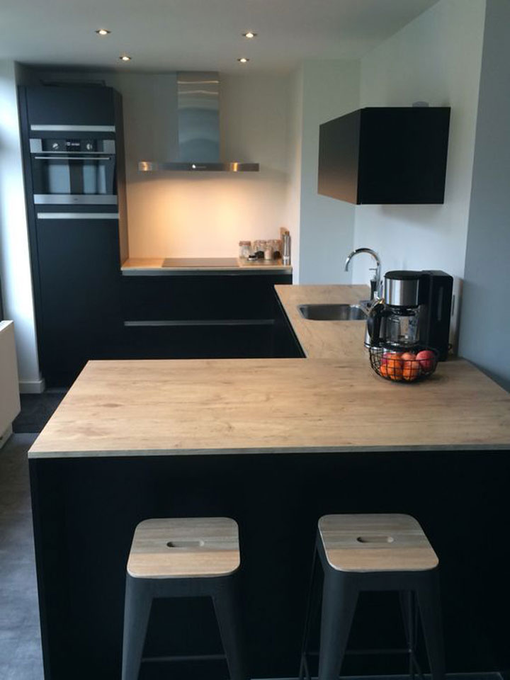 Grote tips voor een kleine keuken woonmooi - Keuken klein ontwerp ruimte ...