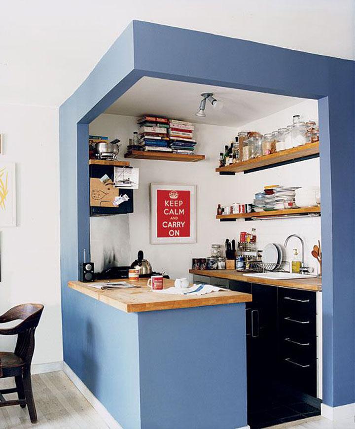 Genoeg Grote tips voor een kleine keuken - woonmooi &KX72