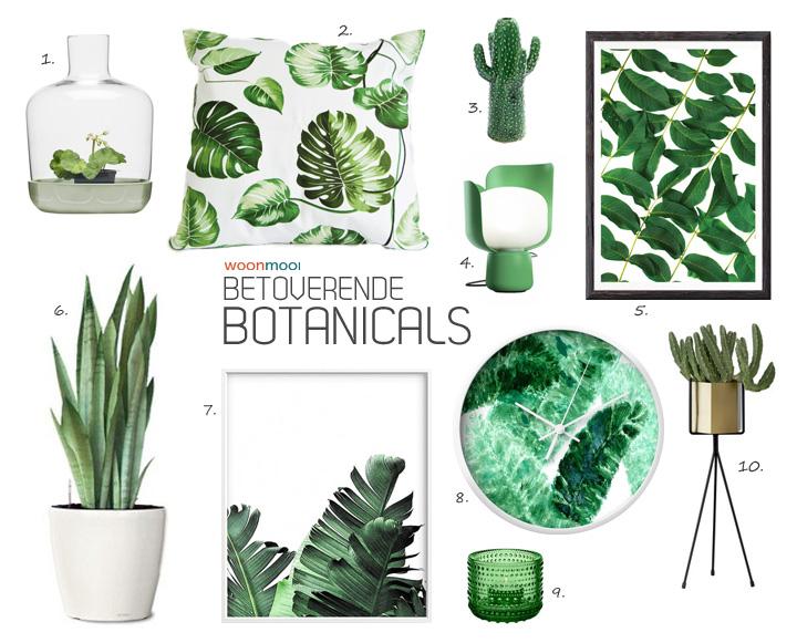 trendkaart botanicals