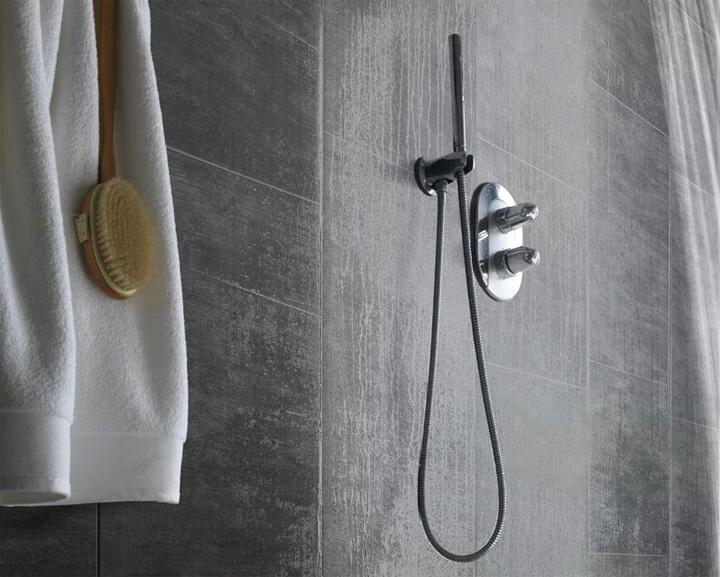 Luxueuze wandbekleding voor de badkamer woonmooi - Muurbekleding voor badkamers ...
