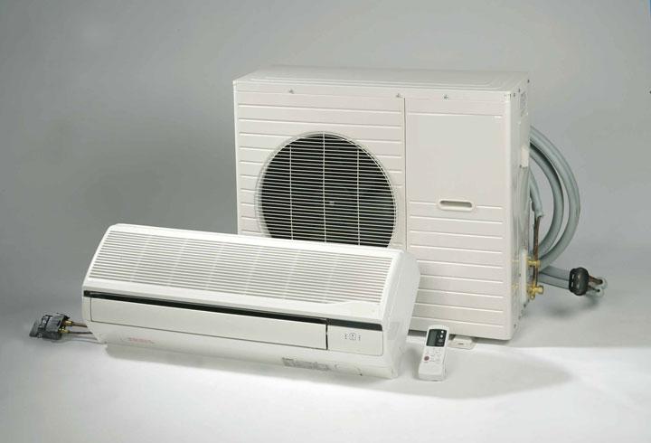 airconditioning binnen en buitenunit