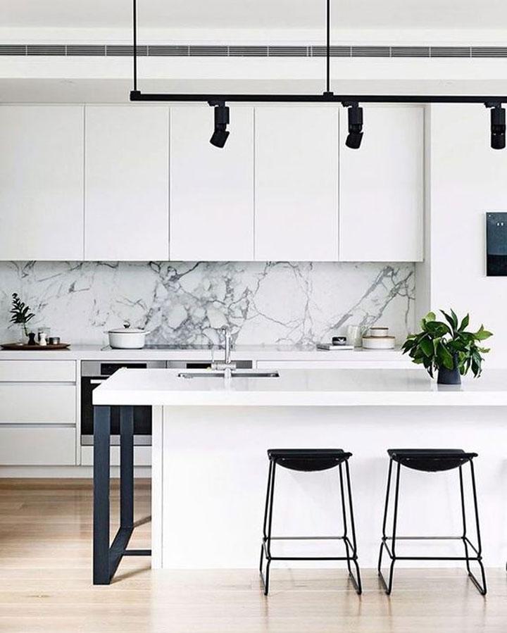 Marmer In De Keuken Woonmooi