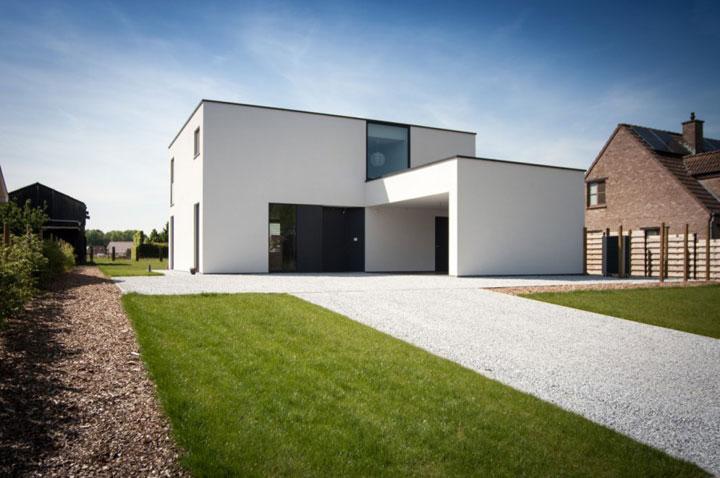 Kubistische Woningen De Essentie Van Moderne Architectuur