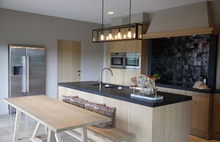 keuken strak landelijk ontwerp