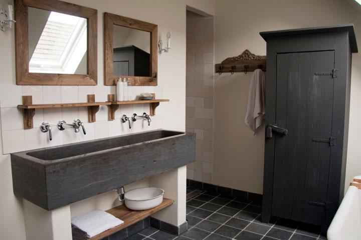 Landelijke badkamer ideeën: voorbeelden en tips woonmooi