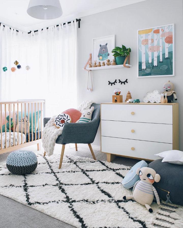 babykamer decoratie