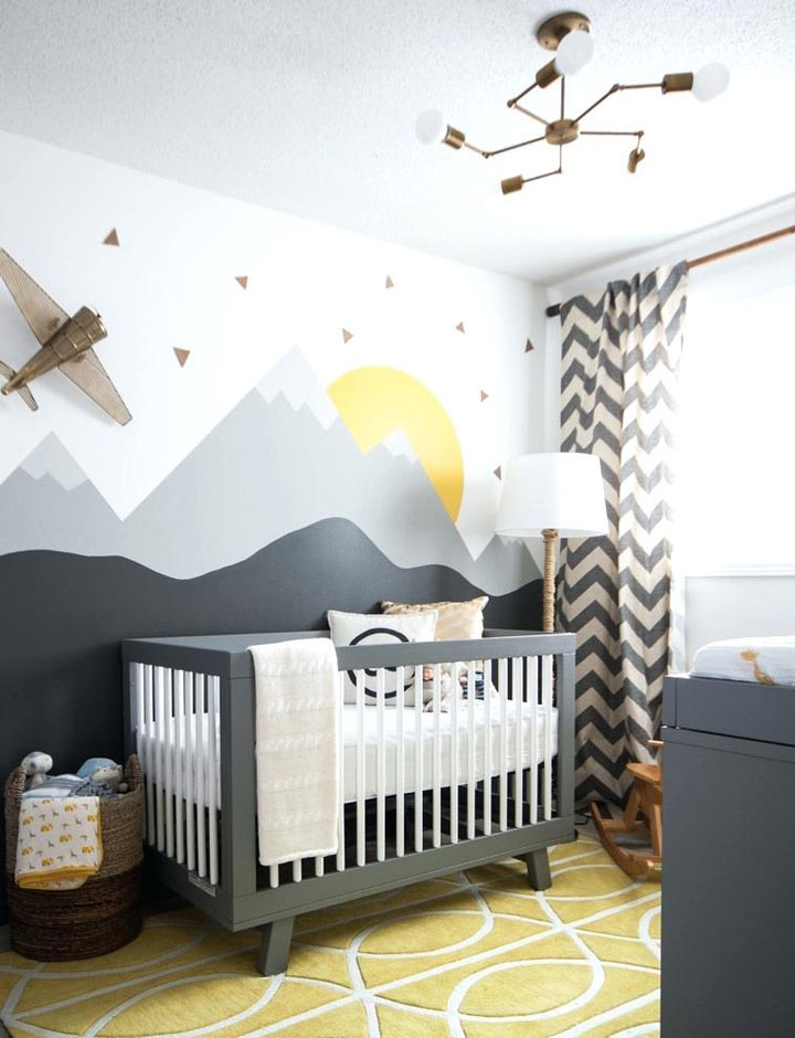 babykamer inrichten kleurenpalet