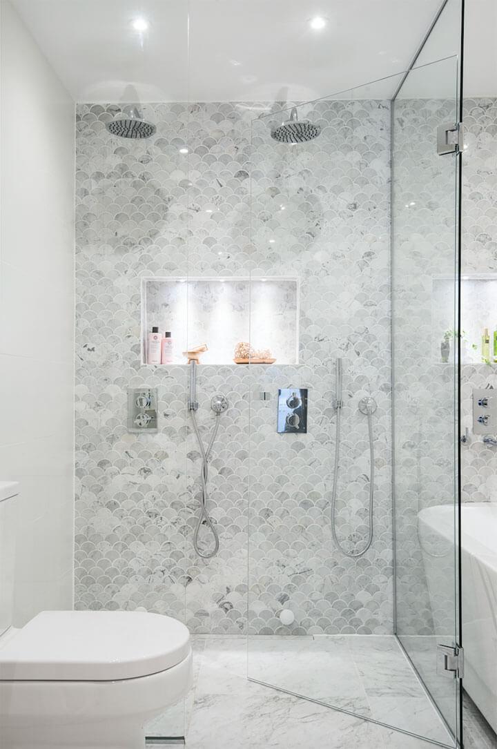 Trend: vissenschubben tegels in de badkamer - woonmooi
