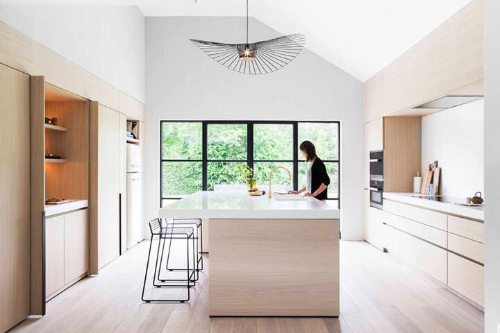 Houten keukens maatwerk keukens in vele houtsoorten