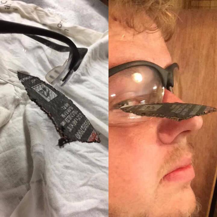 veiligheidsbril werf