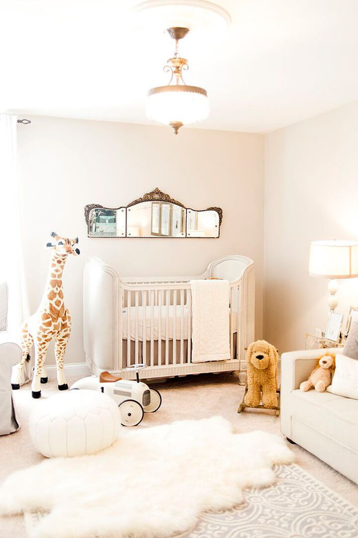 schapenvacht babykamer