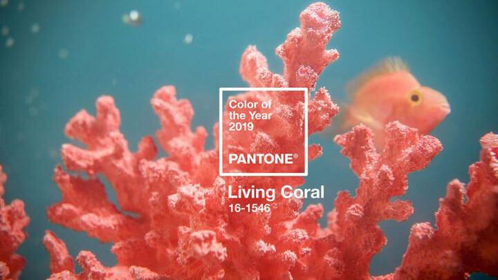 interieurtrends 2019 kleur living coral
