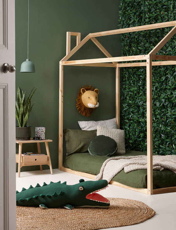 kinderkamer jungle thema