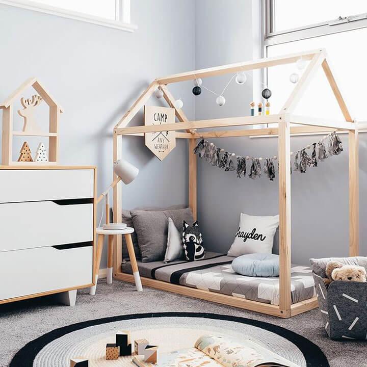 Kinderbed Met Huisje.8x Speelse Kinderbedden In De Vorm Van Een Huisje Woonmooi