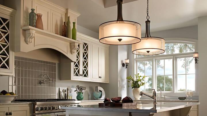 lichtpunten kookeiland keuken