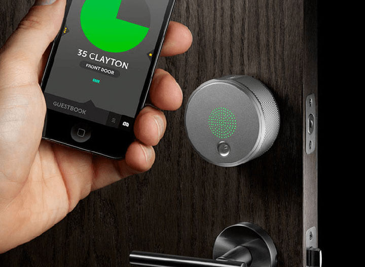 smart lock slim deurslot