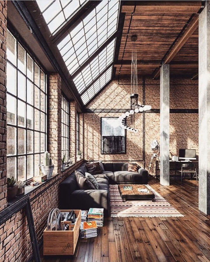 industriele loft living