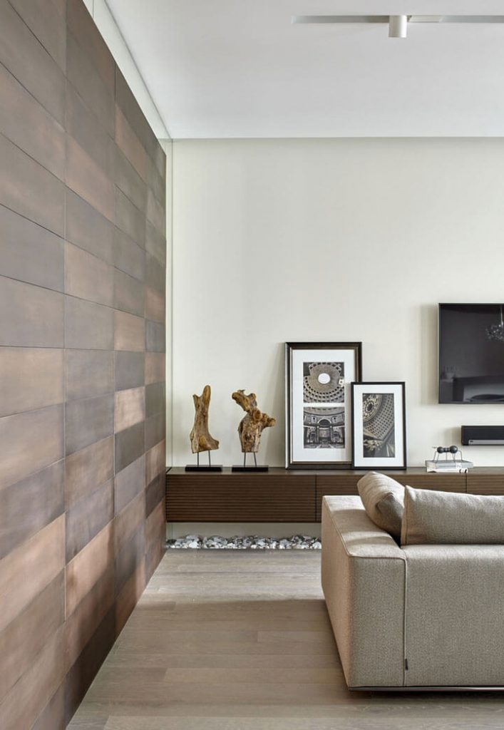 muurtegels woonkamer