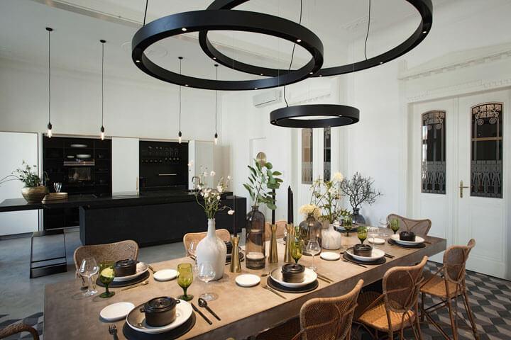 plafondlampen eetkamer