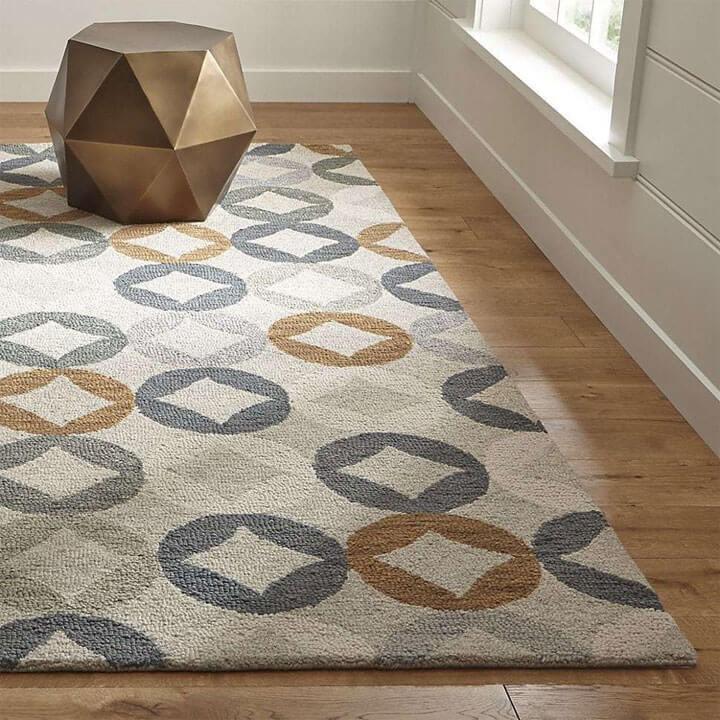 wollen tapijt