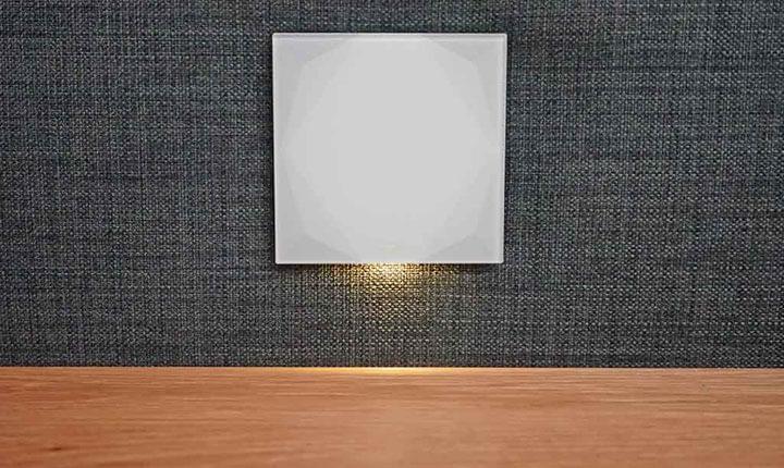 loxone touch pure drukknop met verlichting