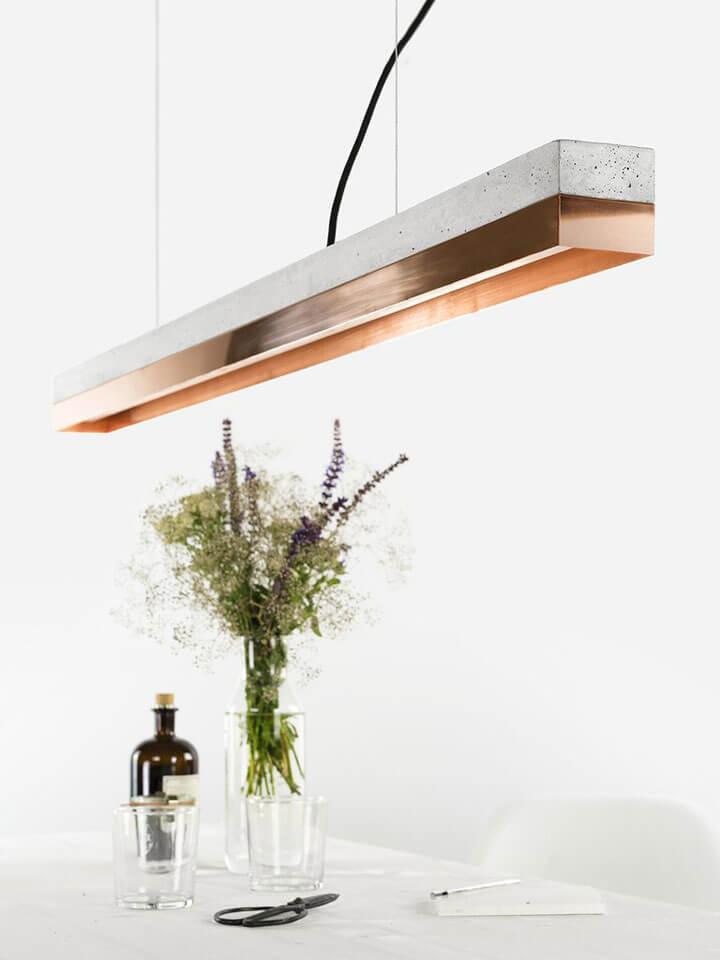 modulaire langwerpige hanglamp gant lights
