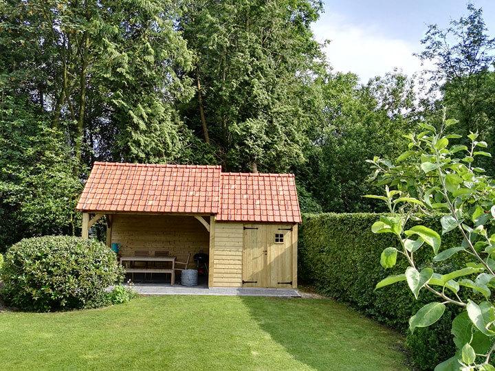zelfbouw tuinhuis