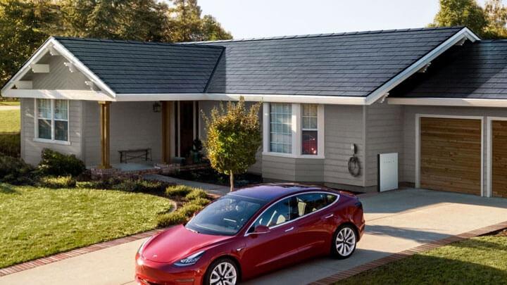 zonnepannen tesla solar roof