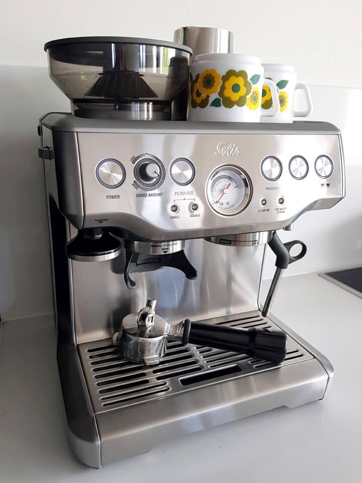 solis grind & infuse 115 pro espresso machine