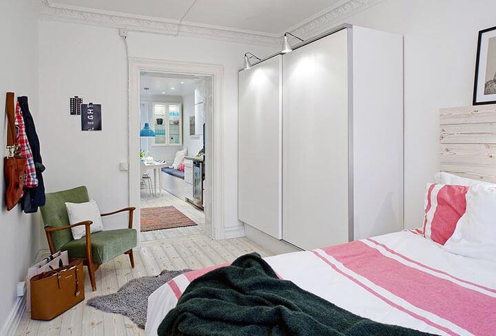 kleerkast wit voor kleine slaapkamer