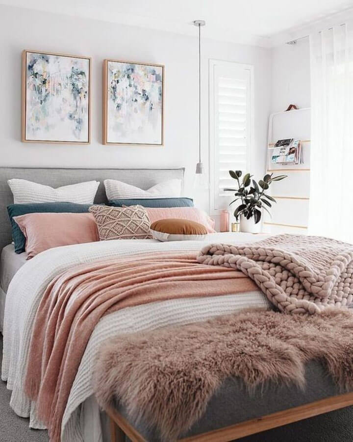 bed styling tips