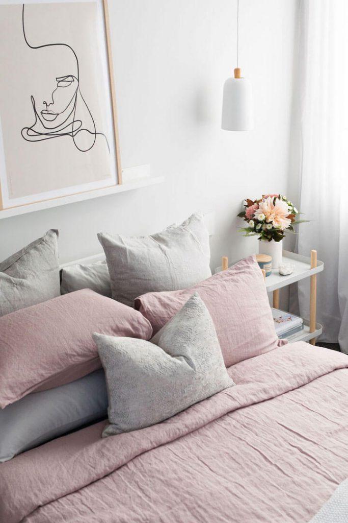 slaapkamer bed aankleden