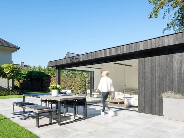 poolhouse zwarthout