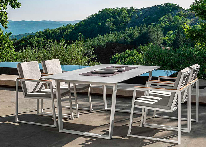 design tuintafel aluminium