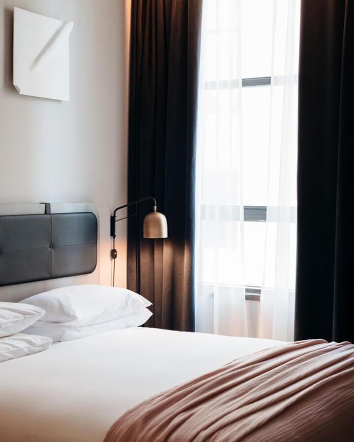 hotelbed maken