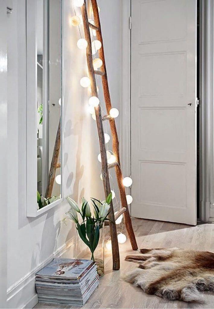 lichtslinger happy lights rond ladder