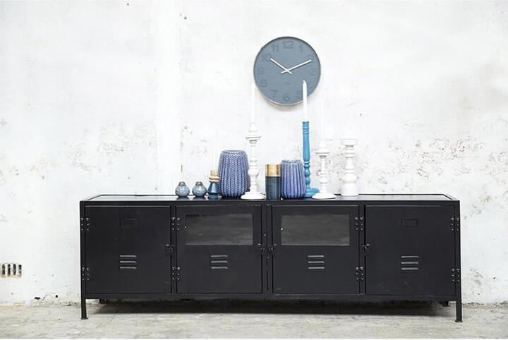 locker tv-meubel metaal